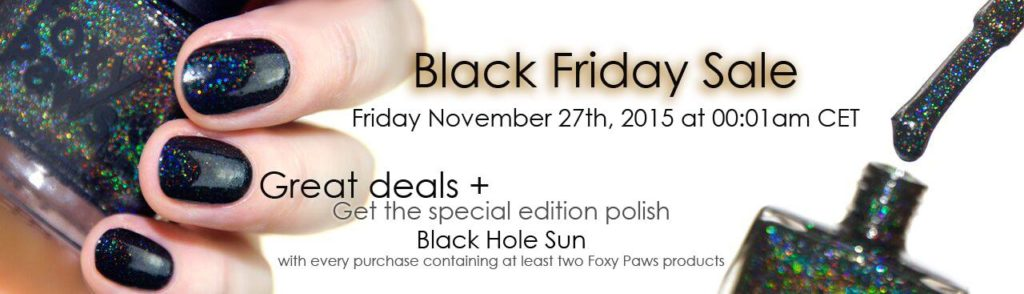 foxy paws black friday