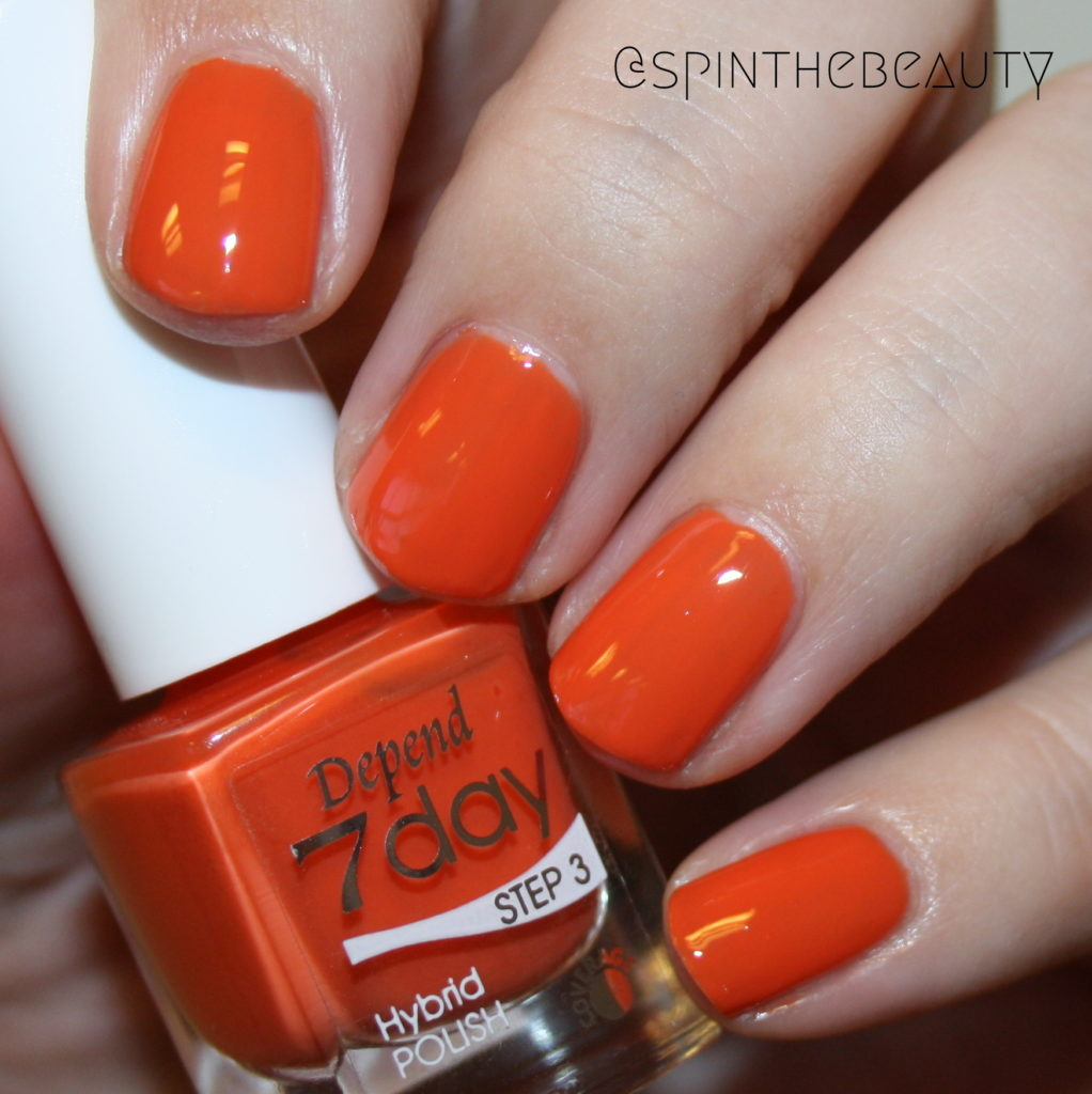 Depend 7077 Out n about Depend Spring 2016 7day & O2 swatches