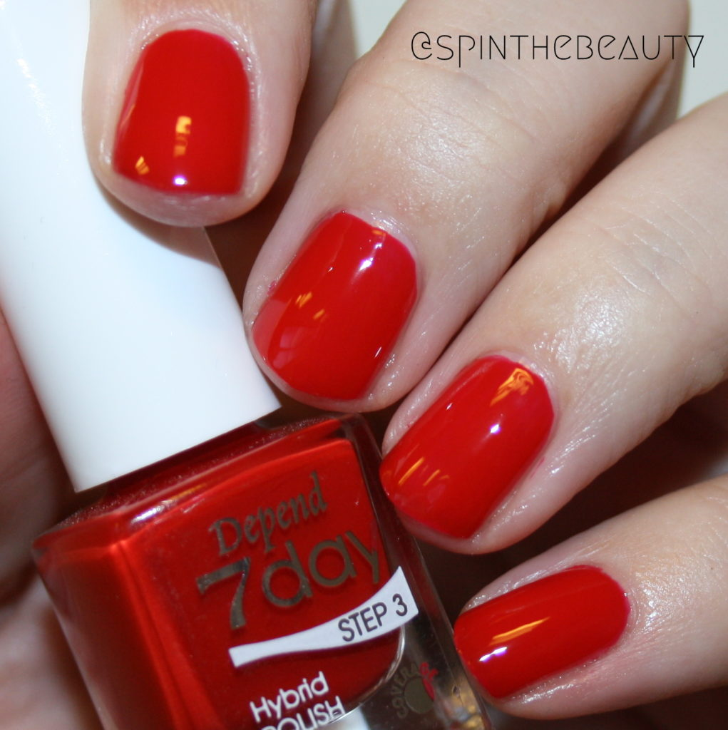 Depend 7078 Lady Bug love Depend Spring 2016 7day & O2 swatches