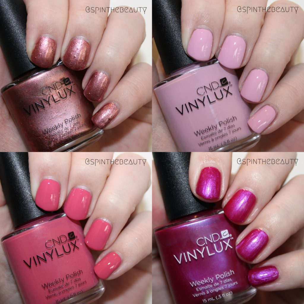 CND Art Vandal - 4 swatches