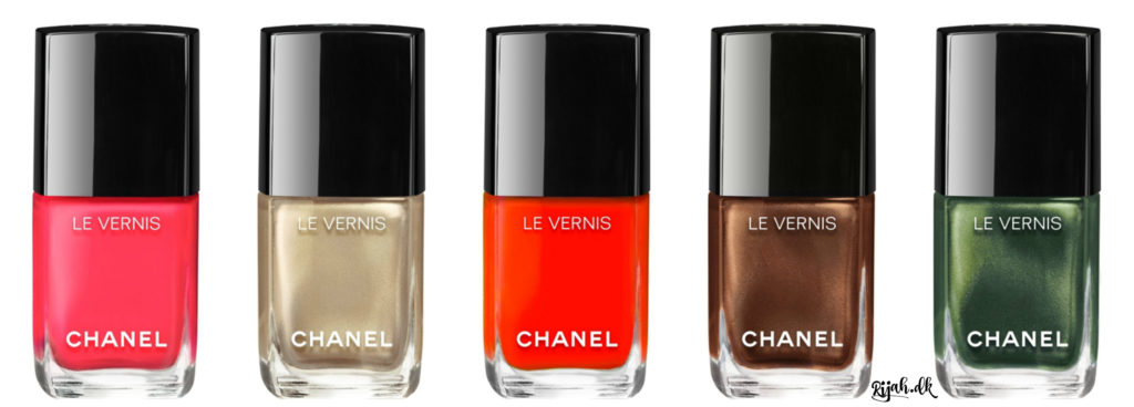 Chanel Summer 2016 Nail Polish